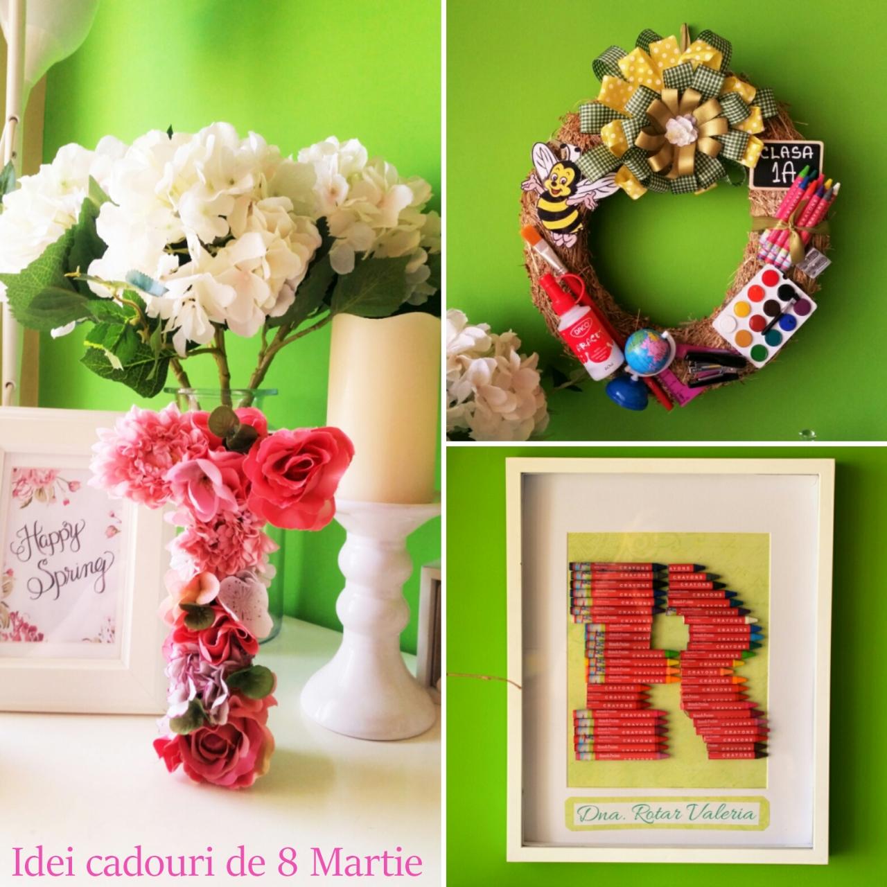 idei cadouri de 8 martie