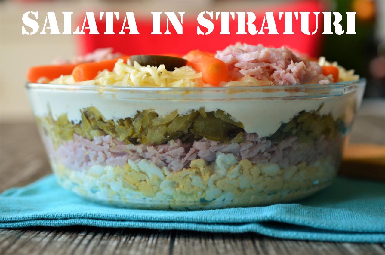 salata in straturi