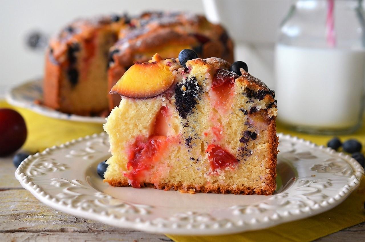prajitura economica cu fructe