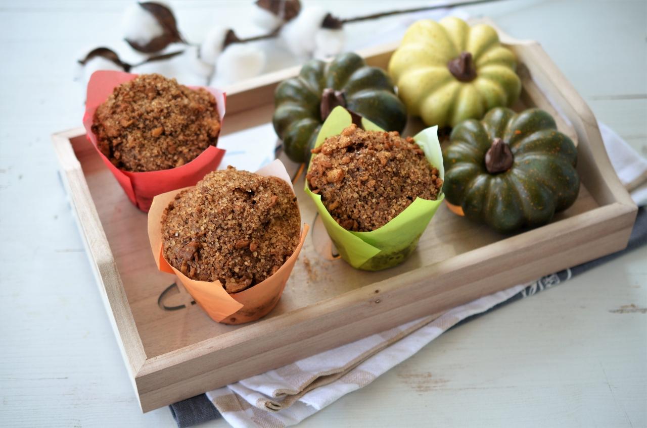 muffins cu dovleac copt