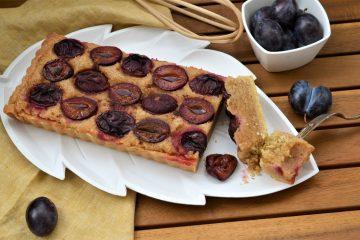 tarta cu prune si frangipane
