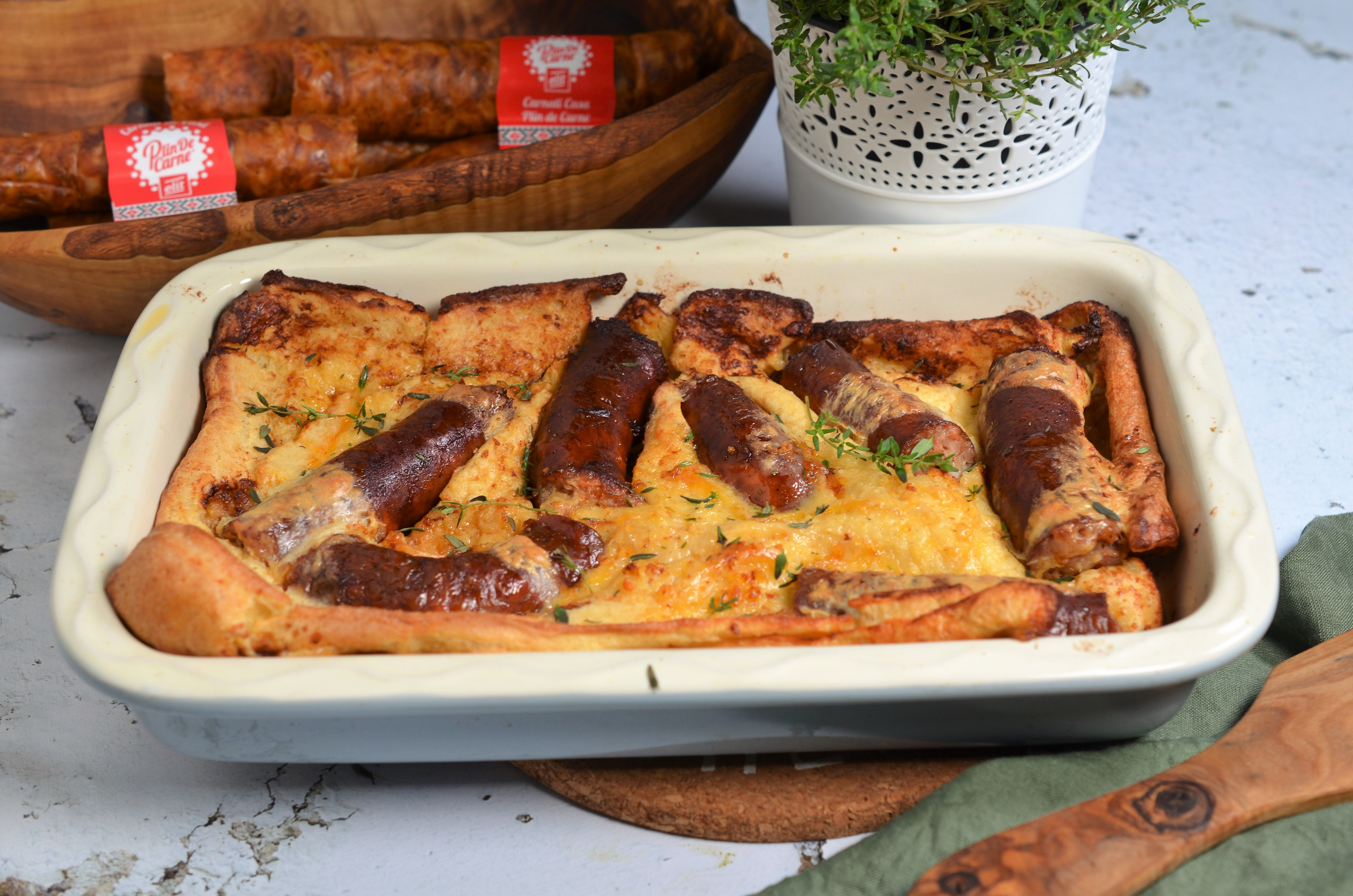 toad in the hole carnati in aluat