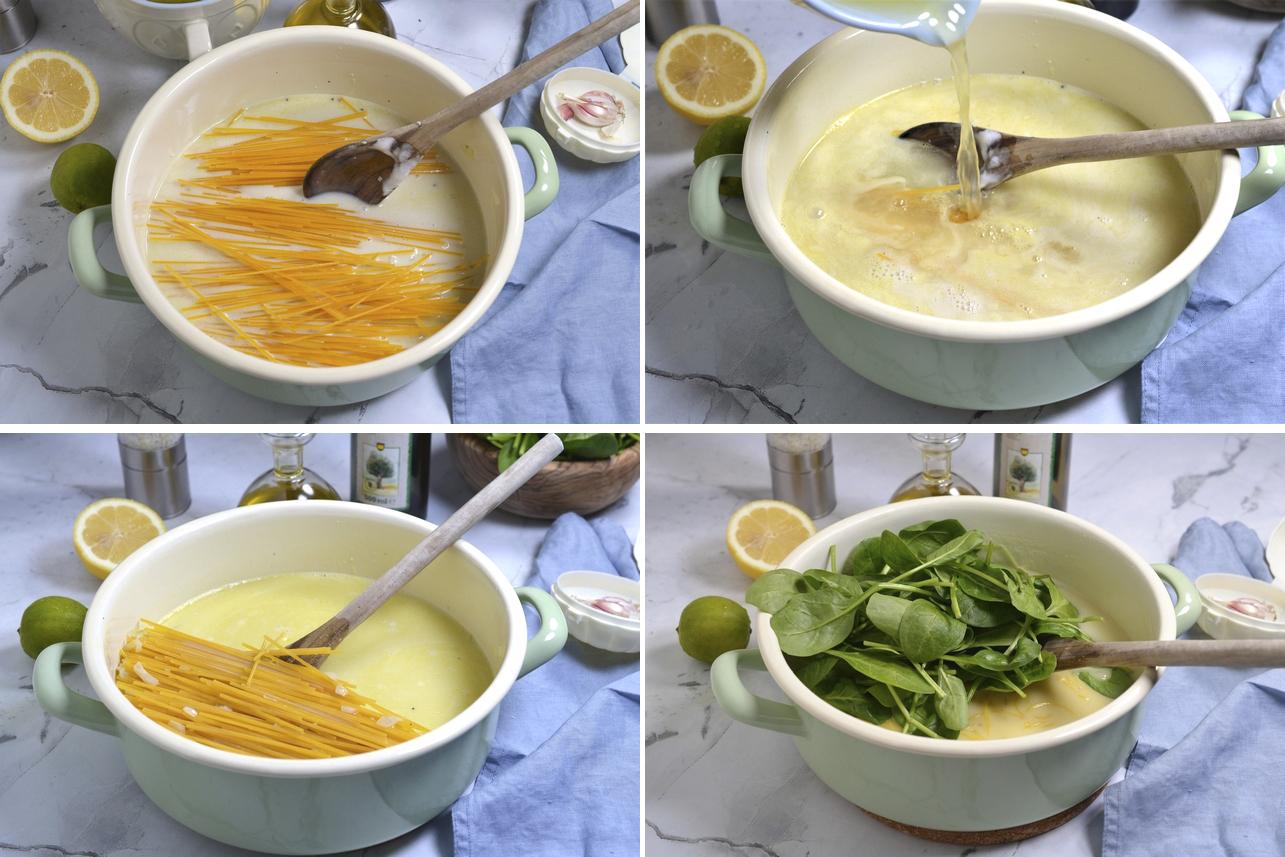 Paste de post cu sos alb