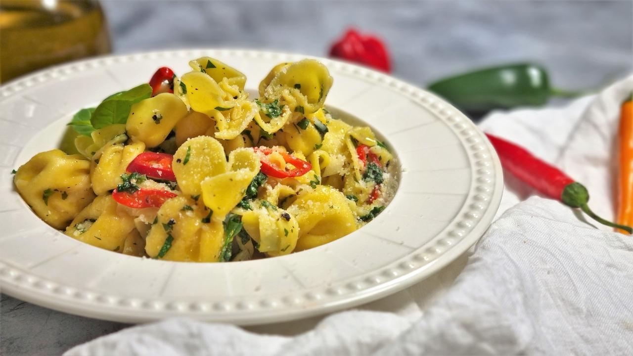paste aglio olio e peperoncino