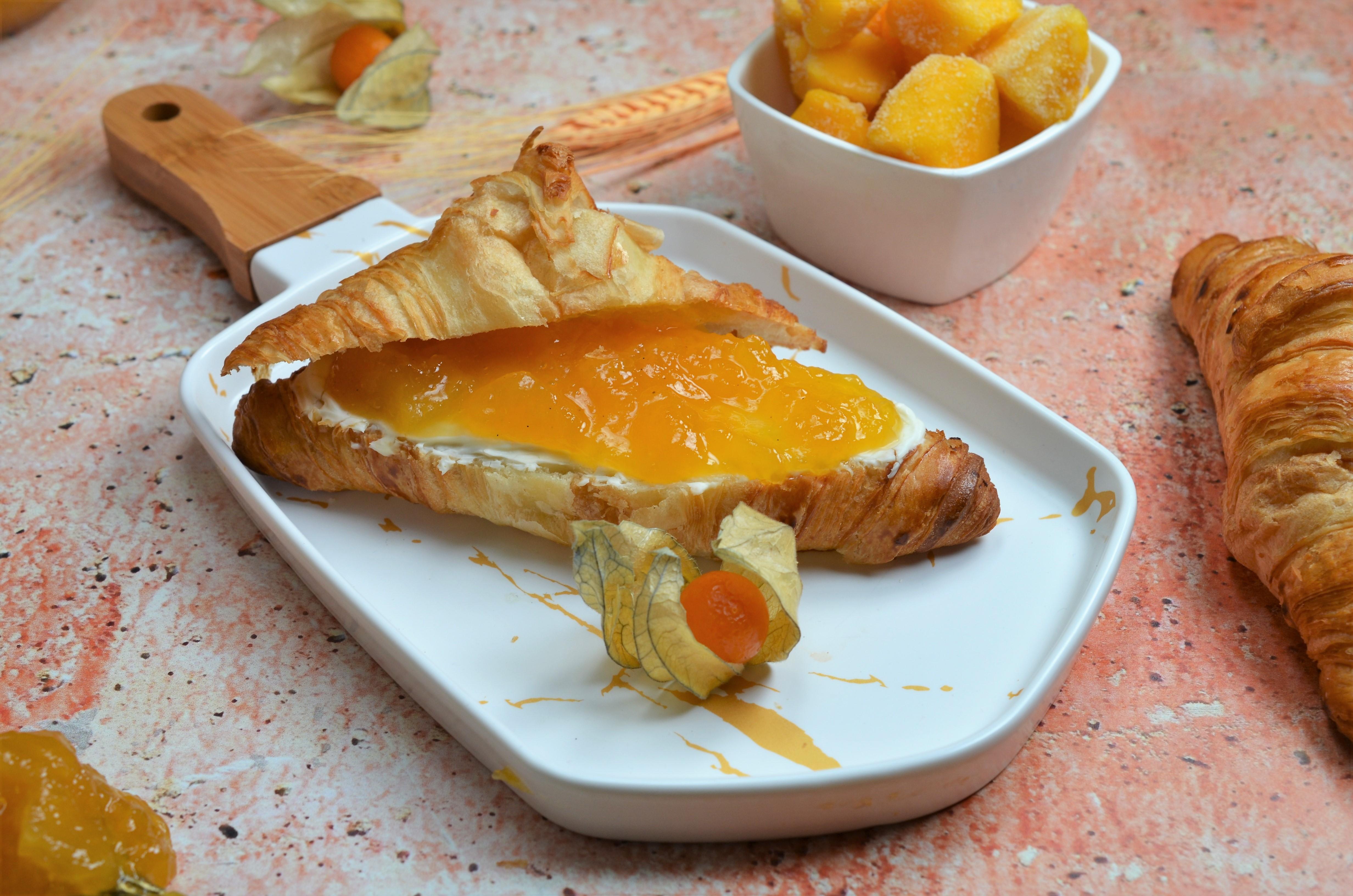 Dulceata de mango si ananas