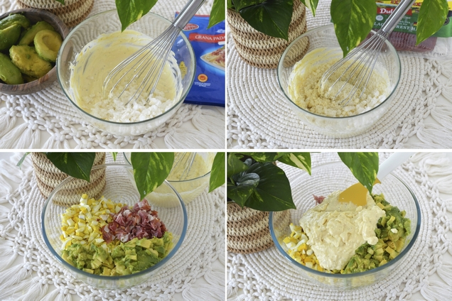 salata de oua umplute cu avocado